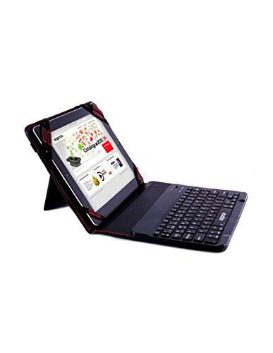 "Approx APPIPCK06 - Funda con Teclado Bluetooth para Tablets 9.7"" & 10.1"""