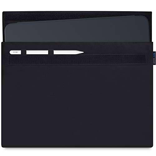 Adore June Classic Funda para Apple iPad Pro 12 9 2018 12,9 Pulgadas con Apple Pencil/Apple Pencil 2 Soporte, Negro